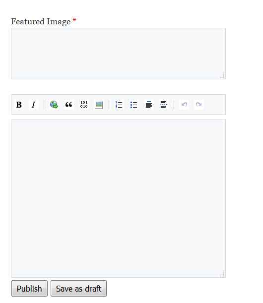 htmly-cms-backend-markdown-editor