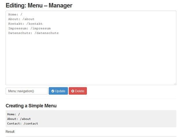 mecha-cms-menü-manager