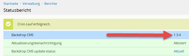 Backdrop 1.3.4 CMS erschienen mit zahlreichen Bugfixes – Updaten empfohlen