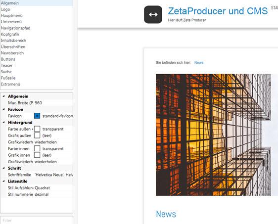 Statische Webseite mit Zeta Producer erstellen – Erfahrungen