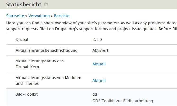 Drupal 8.1.0 erschienen – Updaten empfohlen