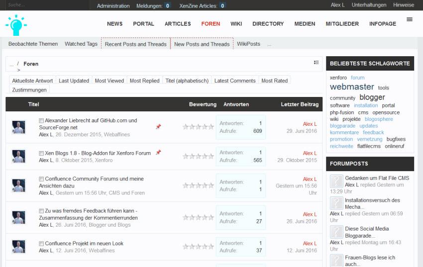 Neue Updates: Xenforo 1.5.9 und Media Gallery 1.1.8