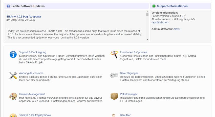 ElkArte 1.0.9 Forum Update erschienen – Bugfixes-Fehlerbehebungen