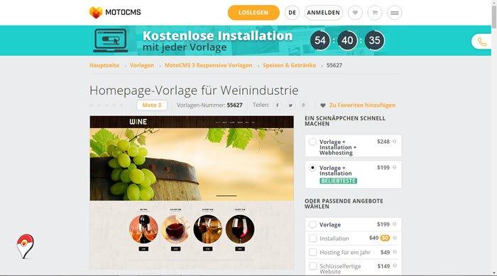 homepage-vorlage-fuer-weinindustrie