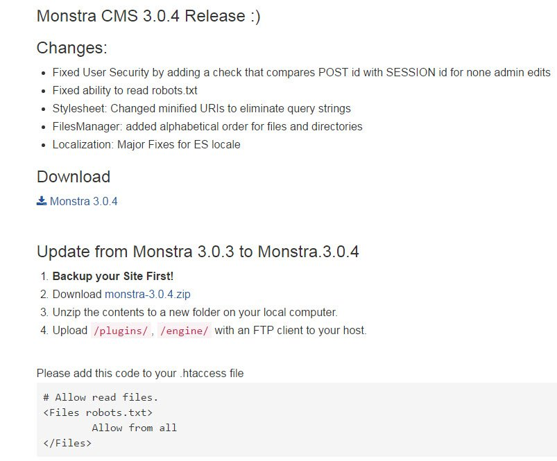 monstra-cms-update-3-0-4-version
