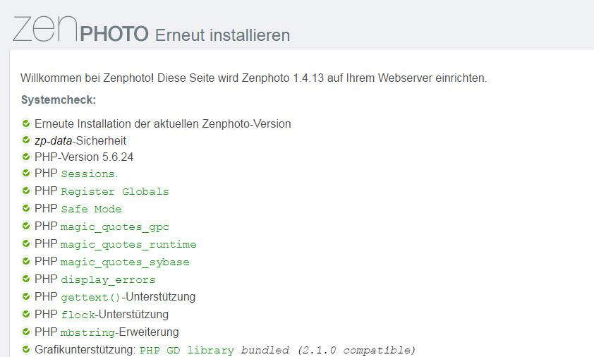 Zenphoto 1.4.13 CMS erschienen – Update mit Bugfixes – Fehlerbehebungen