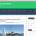 B2evolution 6.7.6 CMS-Update mit Bugfixes – Fehlerbehebungen