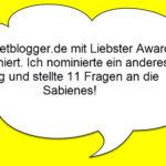 Internetblogger.de wurde mit Liebster Award nominiert