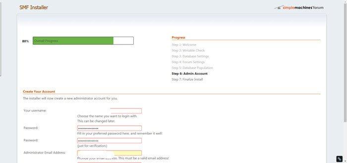 smf-2-1-beta3-forum-installation-centos7-schritt6-admin-konto-erstellung