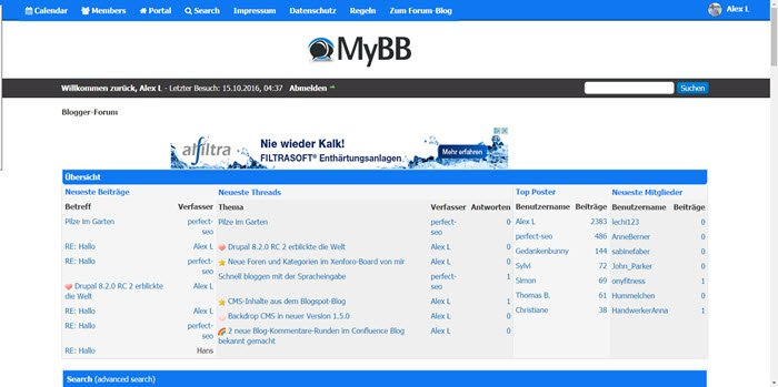 MyBB 1.8.10 erschienen – Wartungsupdate