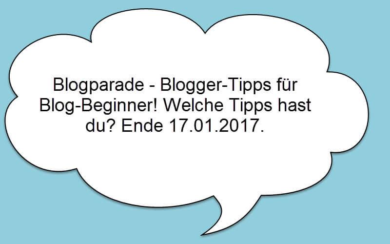 Blogparade – deine Tipps für Blogbeginner – Mache mit!