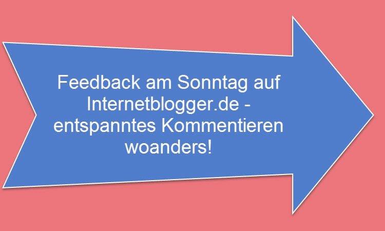 Kommentierrunde mit Internetblogger.de vom 05.06.2016