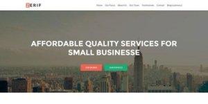 Zerif WordPress Theme