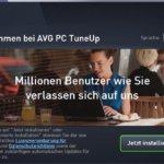 Erste Erfahrungen mit AVG PC TuneUp