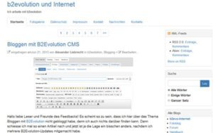 b2evolution-blog-frontend