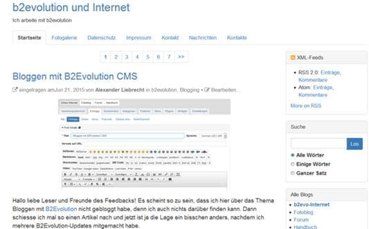 Wichtige Updates erschienen: B2Evolution 6.6.5 und Joomla 3.4.5 - Updaten empfohlen
