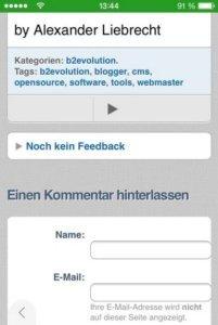 b2evolution-mobil-blog-kommentarfunktion