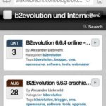 B2evolution CMS: Nofollow-Attribut aus den Kommentar-Links entfernen