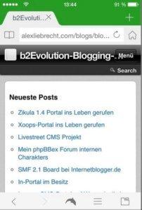 b2evolution-mobil-sammlung-forum