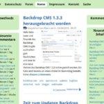 Backdrop CMS 1.4.2 Update mit neuen Funktionen