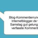 Kommentierrunde mit Internetblogger.de vom 23.07.2016