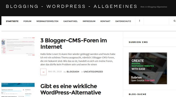 2 empfehlenswerte Blogartikel meiner Blogs
