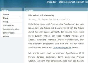 cms2day-Blog