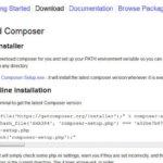 Wie installiert man den Composer richtig