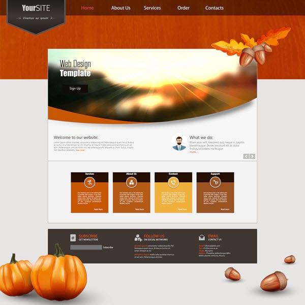Top 10 kostenlose WP-Themes im Herbst 2015 für Deine Business-Seite