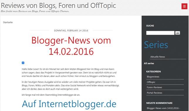 DotClear 2.9.1 und manuelles Upgraden mit Shell und FTP