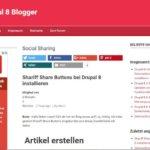 Drupal 8.2.3 verfügbar – Sicherheitsupdate