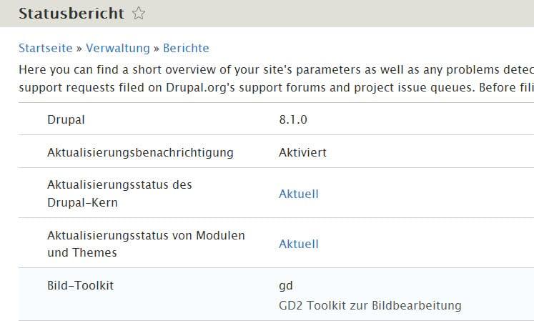 drupal810-statusbericht
