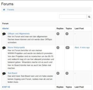 e107v2-forum-frontend