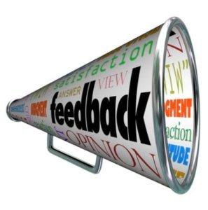 Feedback und Kommentare auf Blogs
