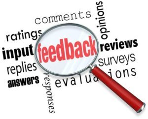 Feedback und Kommentare im Blog