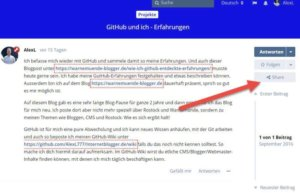 flarum-forum-social-share-buttons-einzelner-forumpost