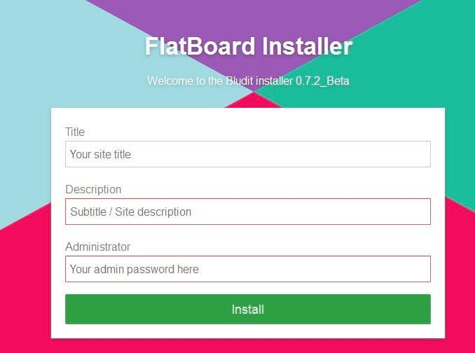 Flat File Forum Lösung namens Flatboard - meine Erfahrungen