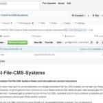 Dropplets CMS: Erfahrungen und Installation