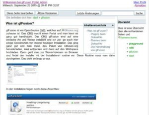 glfusion-dokuwiki-plugin-frontend