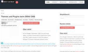 gravcms-blog-frontend