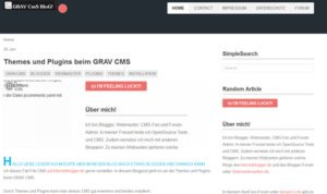gravcms-blog-frontend