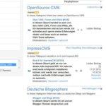 Artikelserie: ImpressCMS – Module imBlogging und imTagging