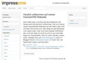 impresscms-frontend-forum