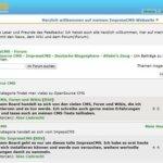 Artikelserie: ImpressCMS – Installation und Grundlegendes