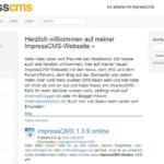 ImpressCMS 1.3.10 erschienen – wichtiges Sicherheitsupdate