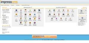 impresscms-portal-im-backend-administration