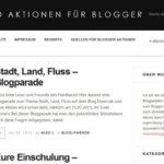 Eure Blogparaden und Blogstöckchen sind bei Internetblogger.biz gut aufgehoben