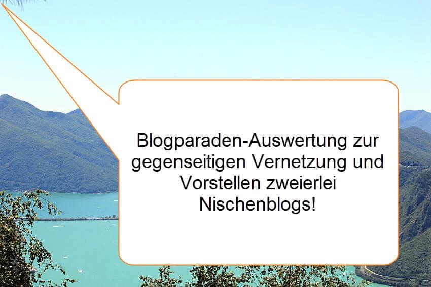 Auswertung der Blogparade - Vernetze dich und stelle zwei Blogs deiner Nische vor