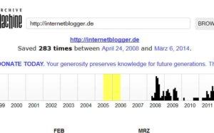 Internetblogger.de hat 6. Geburtstag