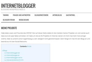 internetblogger-de-seite-eigene-projekte-inhaltsverzeichnis